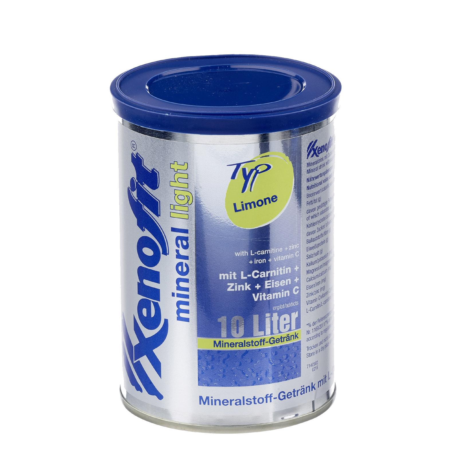Xenofit mineral light - Mineralgetränk Limone Dose 260g