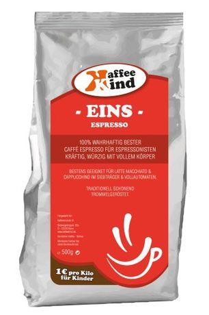 Kaffeekind | EINS | 1 Kg.