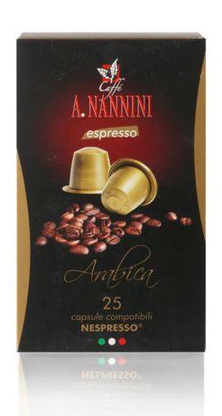 Caffé A. Nannini | Arabica | Nespresso*-kompatible Kapsel | 25 x 6 Stück