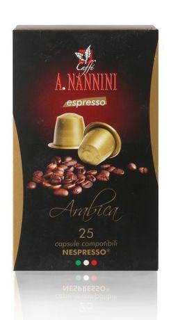 Caffé A. Nannini | Arabica | Nespresso*-kompatible Kapsel | 25 Stück