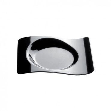 FORMA Black Plastic Mini Plate x 50