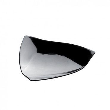 Vela Black Plastic Mini Plate x 50