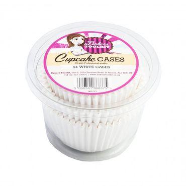 White Cupcake Cases x 54
