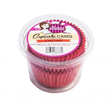 Red Cupcake Cases x 54