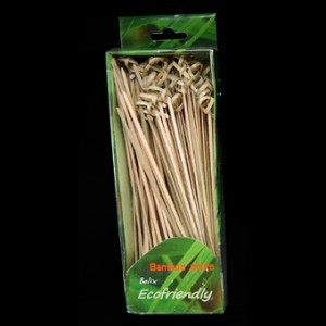 18cm Bamboo Looped Skewers x 100 – image 3