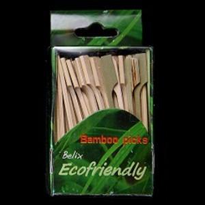 9cm Bamboo Paddle Skewer Sticks x 100 – image 4