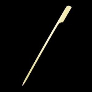 15cm Bamboo Paddle Skewer Sticks x 100 – image 1