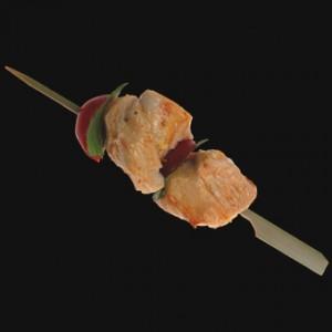 15cm Bamboo Paddle Skewer Sticks x 100 – image 3