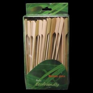 15cm Bamboo Paddle Skewer Sticks x 100 – image 4
