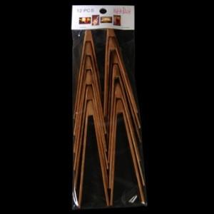Mini Bamboo Tongs x 12 – image 2