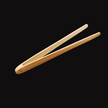 Mini Bamboo Tongs x 12 – image 1