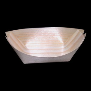 17cm Wooden Boat x 50