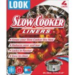 LOOK 55cm x 30cm Slow Cooker Liners x 4 001