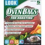 LOOK Large Retail Oven Bags (35cm x 43cm) x 5 001