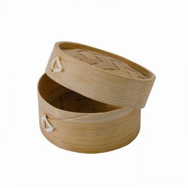 Mini Dim Sum Bamboo Steamer x 10
