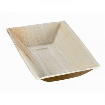 177mm x 127mm Palm Leaf Plate x 25