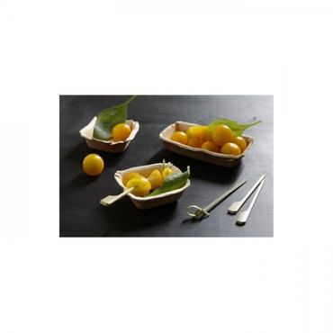 12cm x 7cm Palm Leaf Dip Bowl (Pack of 25)