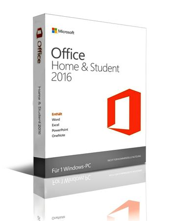 ONLINE aktivierbar • Microsoft Office 2016 Home & Student • DE & Multilingual • RE-Install – Bild 1