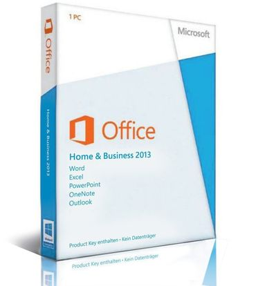 Microsoft Office 2013 Home & Business • DE & Multilingual • TEL. Aktivierbar • Download