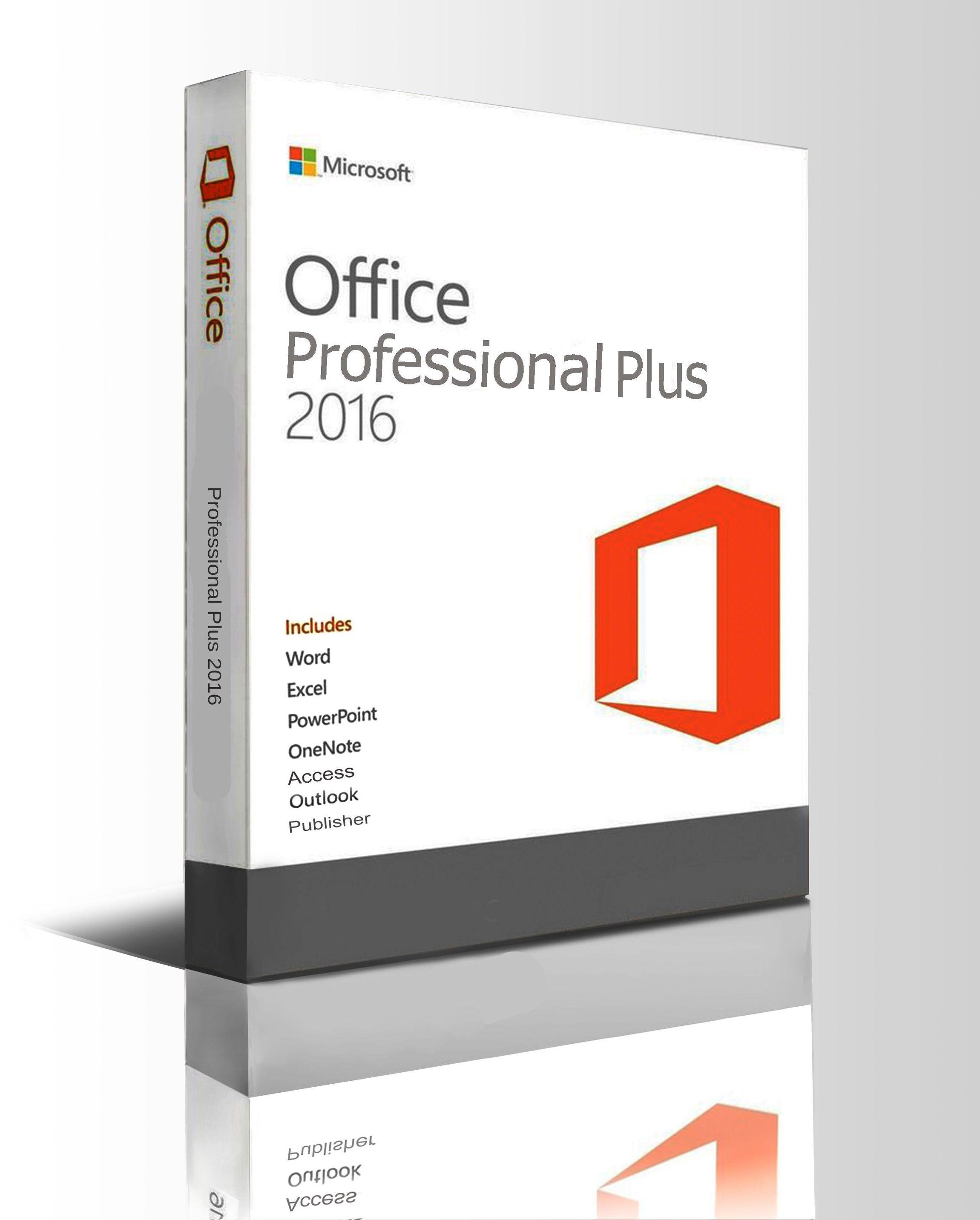microsoft office professional plus 2016 download