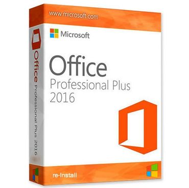 RE-Install • Ms Office 2016 Pro Plus 1 PC • ONLINE-Aktivierung • DE & Multilingual