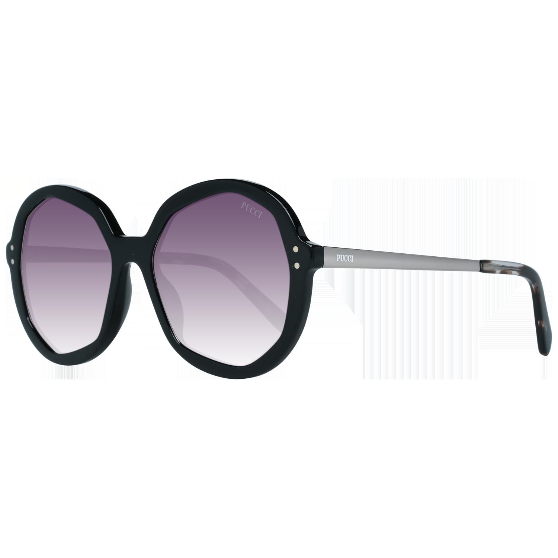Emilio Pucci Sunglasses EP0086 01B 55 Black