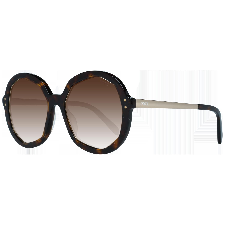 Emilio Pucci Sunglasses EP0086 52G 55 Brown