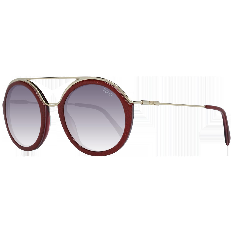 Emilio Pucci Sunglasses EP0013 74T 52 Red