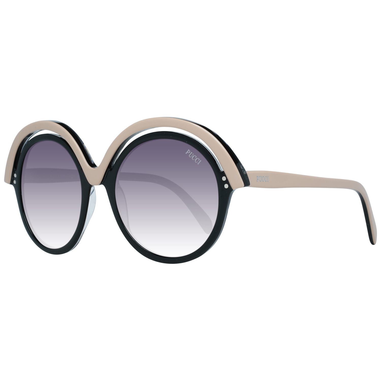 Emilio Pucci Sunglasses EP0065 05B 53 Black