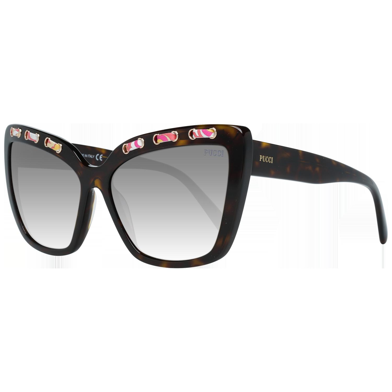 Emilio Pucci Sunglasses EP0101 52B 59 Brown
