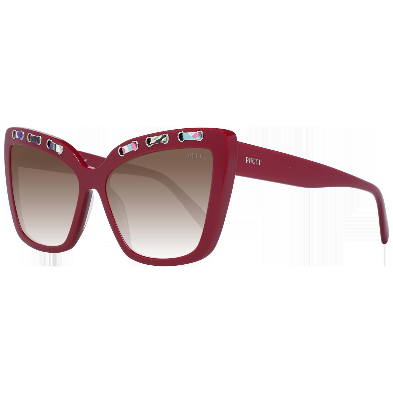 Emilio Pucci Sunglasses EP0101 69F 59 Burgundy