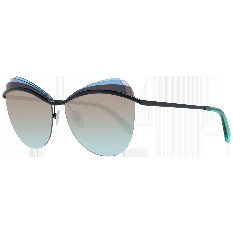 Emilio Pucci Sunglasses EP0112 01F 59 Green