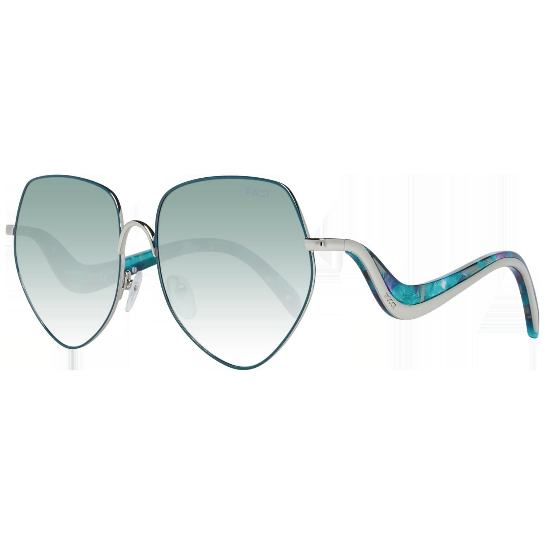 Emilio Pucci Sunglasses EP0119 16B 59 Green