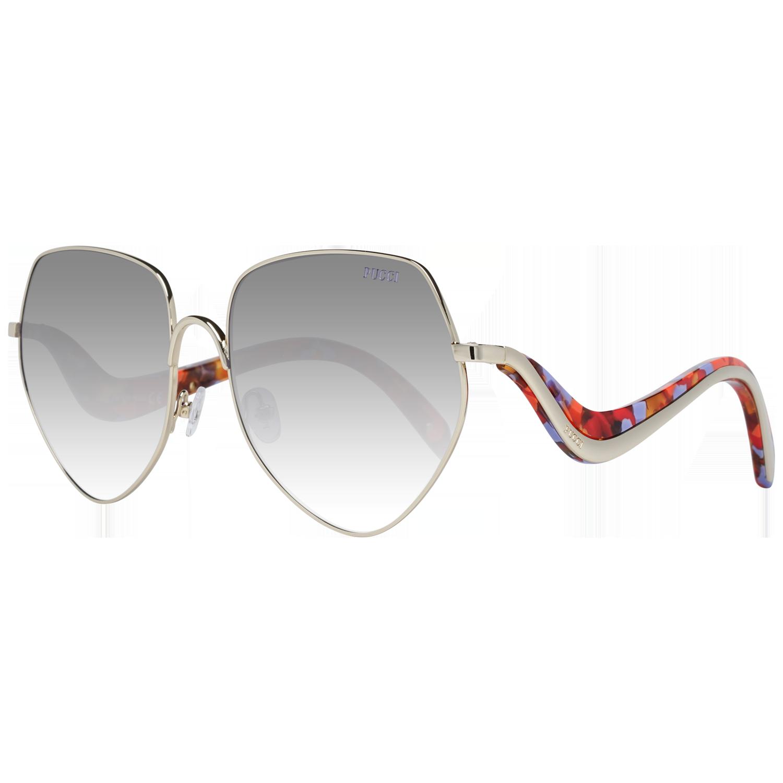 Emilio Pucci Sunglasses EP0119 28G 59 Gold