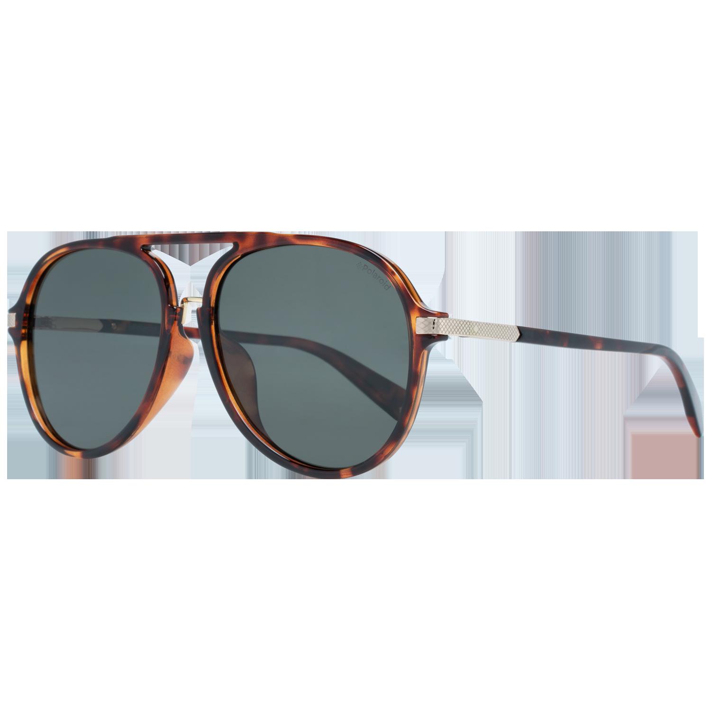 Polaroid Sunglasses PLD 2077/F/S 086 UC 58 Brown
