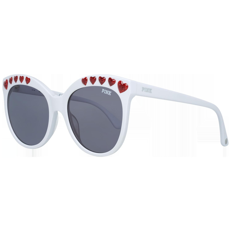 Victoria's Secret Pink Sunglasses PK0009 25A 57 White
