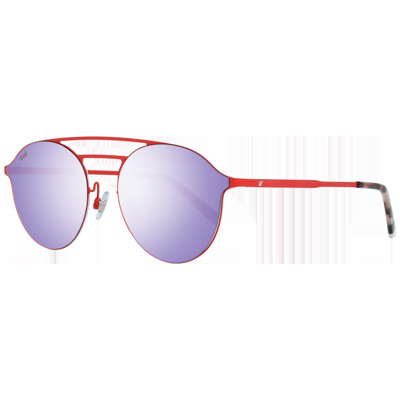 Web Sunglasses WE0249 67G 58 Red