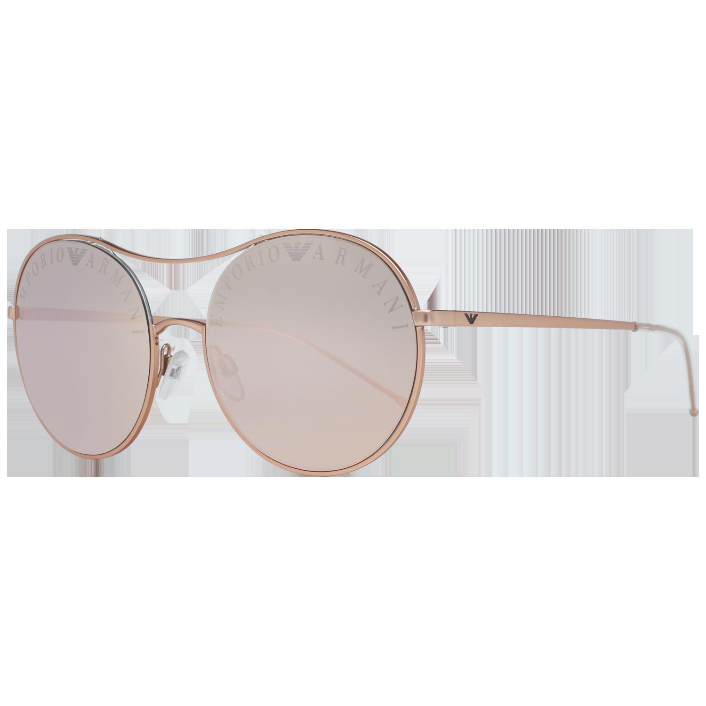 Emporio Armani Sunglasses EA2081 30044Z 56 Rose Gold