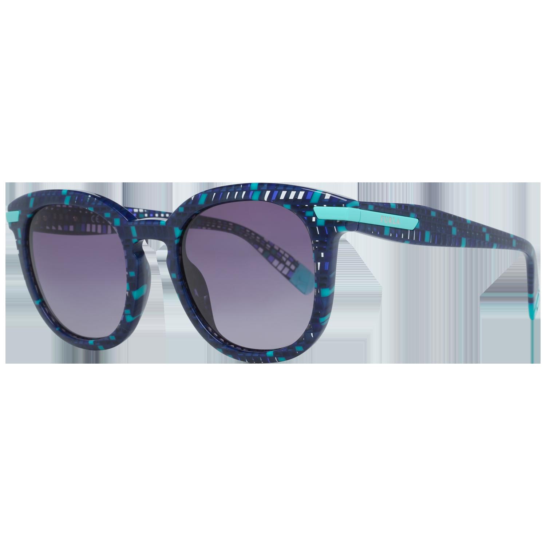 Furla Sunglasses SFU036 0GB2 49 Blue