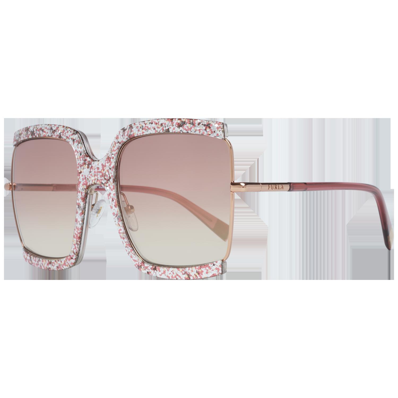Furla Sunglasses SFU276M 8FCX 58 Rose Gold