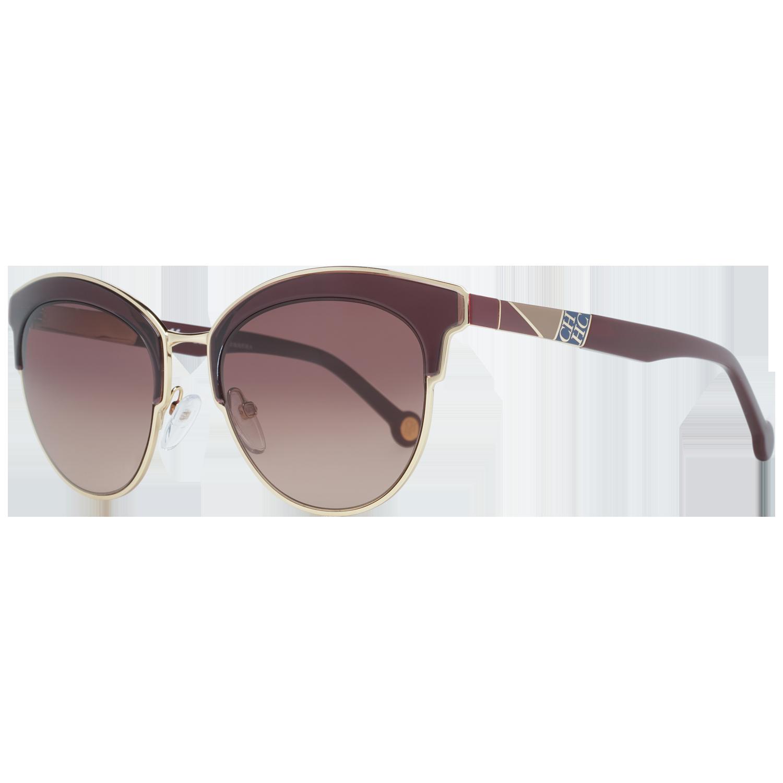 Carolina Herrera Sunglasses SHE101 0A93 52 Gold