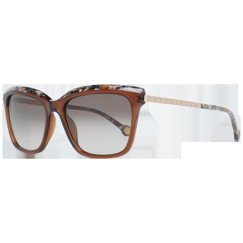 Carolina Herrera Sunglasses SHE689 09GW 54 Brown