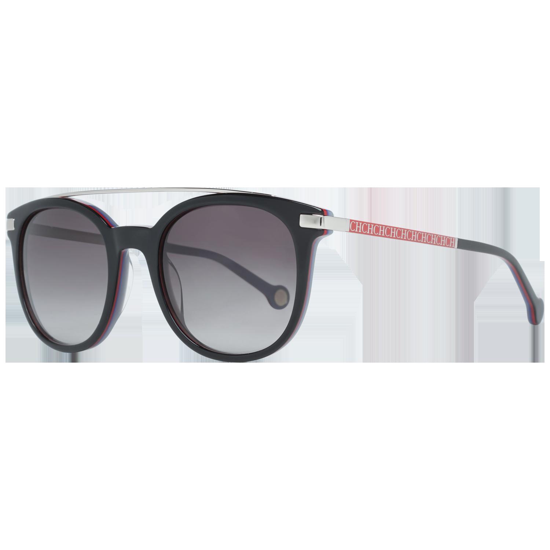 Carolina Herrera Sunglasses SHE690 0U73 50 Silver