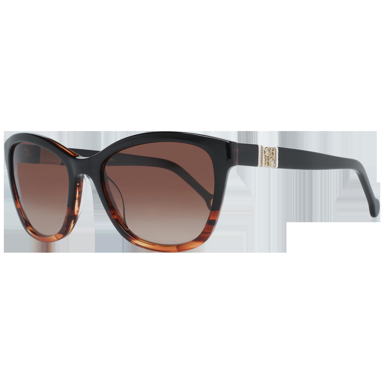 Carolina Herrera Sunglasses SHE698 0GEQ 53 Brown