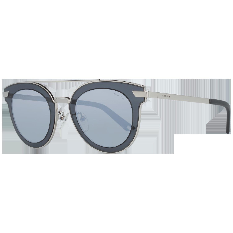 Police Sunglasses SPL349 579X 47 Silver