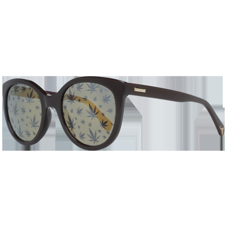 Police Sunglasses SPL408E 6XKL 54 Brown