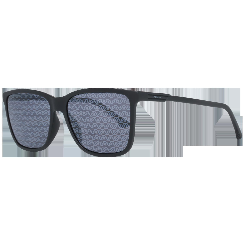 Police Sunglasses SPL585 6AAL 57 Black