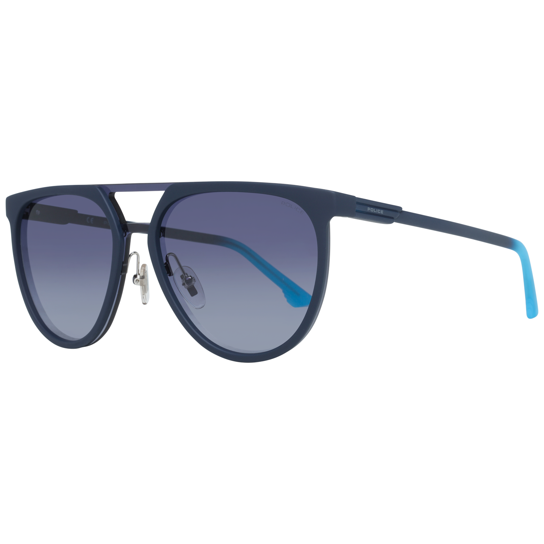 Police Sunglasses SPL586 07SF 99 Blue