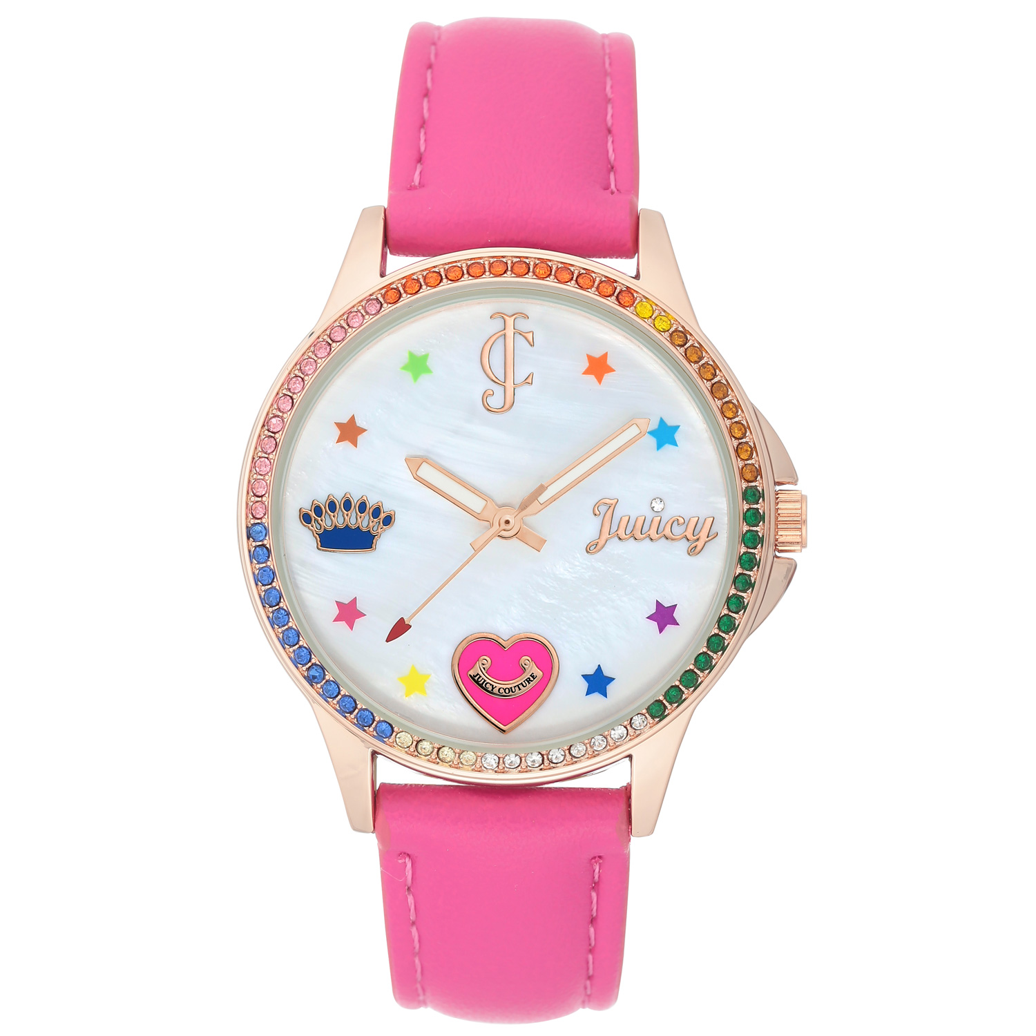 Juicy Couture Watch JC/1106RGHP Pink