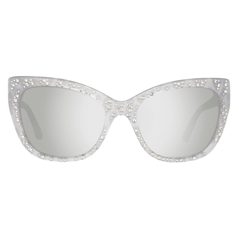 Guess Damen-Sonnenbrille GU7438 5424C Silber mwKHDsOG